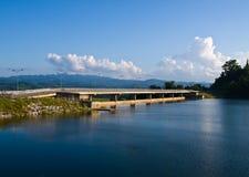 Mae Suay水库在清莱,泰国 免版税库存照片