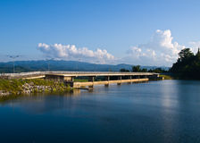Mae Suay reservoir in Chiang rai, Thailand Royalty Free Stock Photo