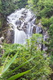 Mae Tia waterfall, Ob Lung national park in Chiangmai Thailand Stock Photo