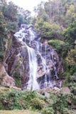 Mae Tia-waterval, Ob-Long nationaal park in Chiangmai Thailand Stock Fotografie