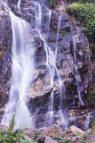 Mae Tia-waterval, Ob-Long nationaal park in Chiangmai Thailand Royalty-vrije Stock Afbeelding