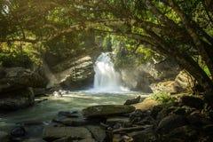 Mae Wang Waterfall. At Mae Wang National Park, Chiang Mai, Thailand Stock Images