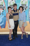 Mae Whitman,Sarah Ramos,Miles Heizer Royalty Free Stock Image