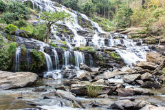 Mae Ya-Wasserfall, Nationalpark Doi Inthanon, Chiang Mai Thailand Stockbild