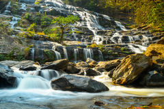 Mae Ya water fall Royalty Free Stock Images