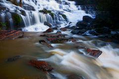 Mae Ya waterfall. Mae Ya waterfall,Attractions. Chiang Mai, relax with nature, Thailand Stock Images