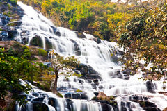 Mae Ya waterfall Royalty Free Stock Images