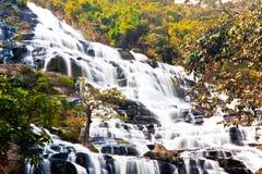 Mae Ya waterfall Royalty Free Stock Images