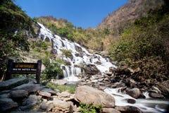 Mae Ya Waterfall. Royalty Free Stock Image