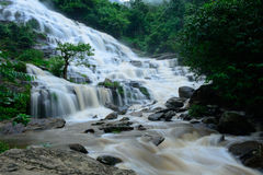 Mae Ya waterfall is bigest waterfal in Chiang Mai Stock Photos
