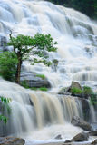 Mae Ya waterfall is bigest waterfal in Chiang Mai Royalty Free Stock Image
