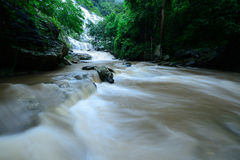 Mae Ya waterfall is bigest waterfal in Chiang Mai Royalty Free Stock Photos