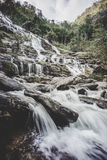Mae Ya waterfall. Chiang Mai province,Thailand ,vintage style Stock Images