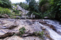 Mae Ya waterfall  in Chiang Mai, Thailand Royalty Free Stock Photography