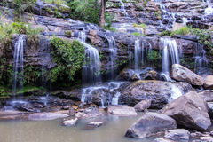 Mae Ya waterfall  in Chiang Mai, Thailand Stock Photos
