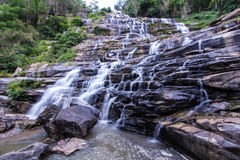 Mae Ya waterfall  in Chiang Mai, Thailand Stock Image