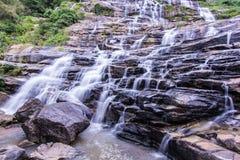 Mae Ya waterfall  in Chiang Mai, Thailand Stock Photography