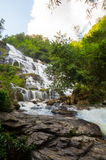 Mae-Ya Waterfall. In Chiang Mai Thailand Royalty Free Stock Photos