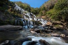 Mae Ya Waterfall Stock Photo