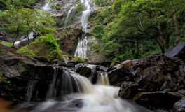 Mae Ya Waterfall, Doi Inthanon National Park, Chiang Mai, Thaila Stock Photo