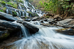 Mae Ya Waterfall Stock Images