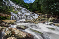 Mae Ya waterfall Stock Image