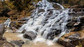 Mae Ya Waterfall, Doi Inthanon National Park, Chiang Mai, Thailand. Mae Ya Waterfall,  National Park, Chiang Mai, Thailand Royalty Free Stock Photo
