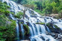 Mae Ya waterfall at Doi Inthanon National Park Stock Images