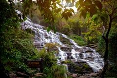 Mae Ya Waterfall Royalty Free Stock Photo