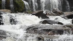 Mae Ya waterfall. stock video footage