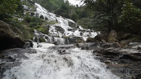 Mae Ya waterfall. stock footage