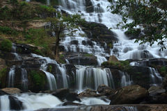 Mae Ya waterfall. And large. Northern Thailand Stock Images