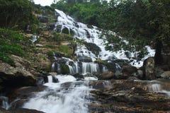 Mae Ya waterfall. And large. Northern Thailand Stock Image