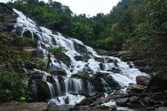 Mae Ya waterfall. And large. Northern Thailand Stock Photos