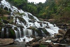 Mae Ya waterfall. And large. Northern Thailand Stock Photo