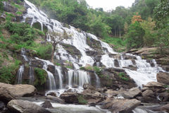 Mae Ya Waterfall, the popular place in Chiang Mai , Thailand Royalty Free Stock Images