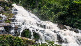 Mae Ya Waterfall in Thailand royalty free stock photo