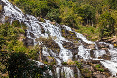 Mae Ya waterfall is tourist attraction and one of the most beautiful waterfall in Chiang Mai, Thailand Stock Photos