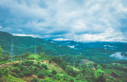 MaeHongSon. From PAI District To Maehongson Stock Image