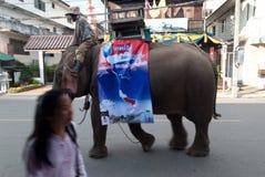 MAEHONGSON THAILAND-OCTOBER 25 Fotografia de Stock