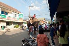 MAEHONGSON THAILAND-OCTOBER 25 Imagens de Stock Royalty Free
