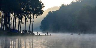 Maehongsorn,泰国 免版税库存照片