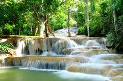 maekae泰国瀑布 图库摄影