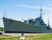 Maeklong Kriegsschiff Lizenzfreie Stockfotos