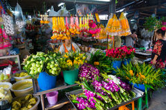 Maeklong Railway Market Royalty Free Stock Photo