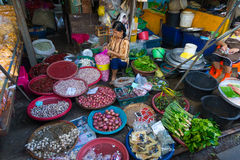 Maeklong Railway Market Royalty Free Stock Images