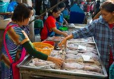 Maeklong Railway Market Stock Image
