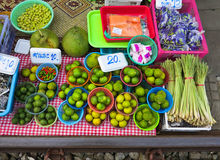 MAEKLONG, THAILAND-DECEMBER 11,2016 : The famous railway market or folding umbrella market at Maeklong, Thailand, A famous market Stock Photo