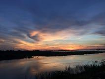 Maekong rzeka Zdjęcia Royalty Free