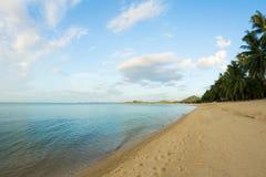 Maenam海滩,酸值苏梅岛,泰国 图库摄影